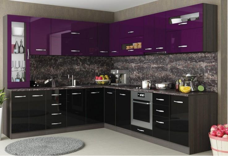 Горен кухненски шкаф с една врата Елинор G60 МДФ 35 см