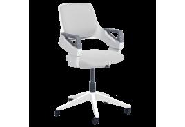 Детски стол CLEVER Е - бял