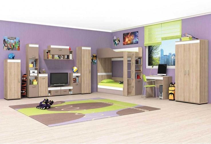 Модулна детска стая КРИС - вариант 1
