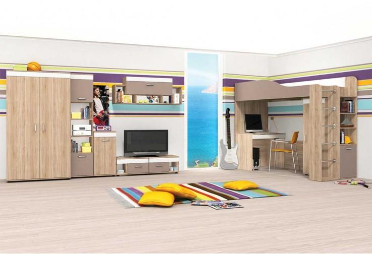 Модулна детска стая КРИС - вариант 2