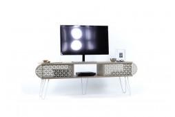 ТВ шкаф Illia Maxi №1 дъб / бяло