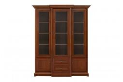 Висок шкаф витрина с три врати KENT EREG3W2S