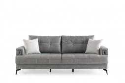 Разтегателен диван NEVA тройка сив