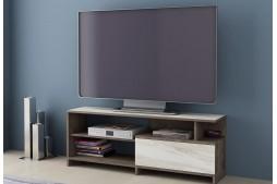 ТВ шкаф Алфа 70 колониален дъб / бял мрамор