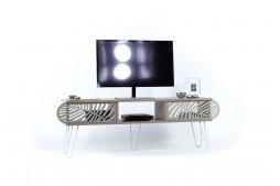 ТВ шкаф Illia Maxi №5 дъб / бяло