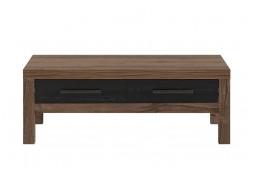 Холна маса с чекмеджета BALIN LAW2S / 110 манастирски дъб / черен дъб