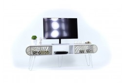 ТВ шкаф Illia Maxi №5 бял