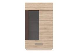Шкаф с витрина СОЛО 1W с възможност за окачване