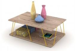 Холна маса Tars дъб / жълто