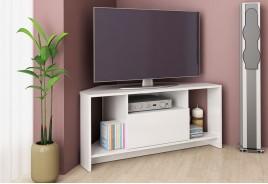 ТВ шкаф Алфа 60 бял гланц