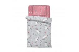 Бебешко спално бельо ЕДНОРОГ 100% памук