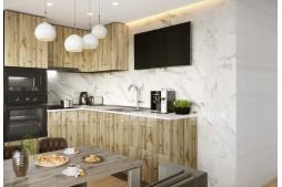Ъглова кухня СИТИ 872 с термоплот