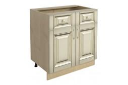 Долен шкаф VANILLA Н80 2+2 с две врати и две чекмеджета