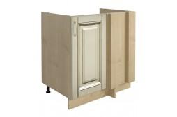 Долен шкаф VANILLA Н80 ъглов с една врата