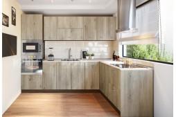 Ъглова кухня СИТИ 975 с термоплот