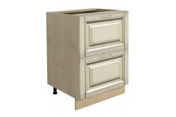 Долен шкаф VANILLA Н60 с две чекмеджета