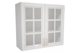 Горен шкаф MICHELLE В80 с витрина