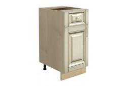 Долен шкаф VANILLA Н40 с една врата и едно чекмедже