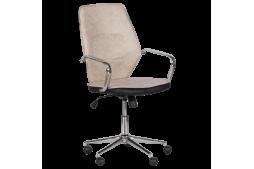 Работен офис стол КАРМЕН 6374-1 - бежов
