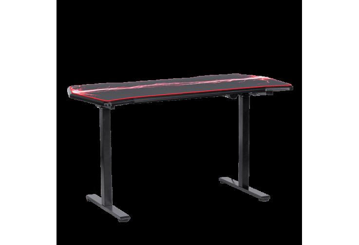 Ергономично геймърско бюро КАРМЕН CR-116 G - черено - червено