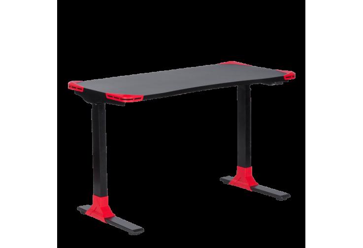 Ергономично геймърско бюро КАРМЕН CR-121 G - черно-червено
