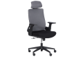 Президентски офис стол КАРМЕН 7544 - черен