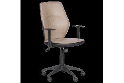 Работен офис стол КАРМЕН 6374-2 - крем
