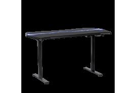 Ергономично геймърско бюро КАРМЕН CR-116 G - черно - син