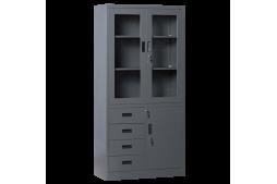 Метален шкаф КАРМЕН CR-1278 E SAND - графит