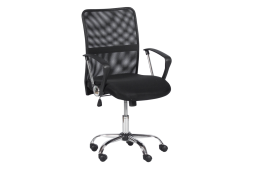 Работен офис стол КАРМЕН 6591-1 - черен