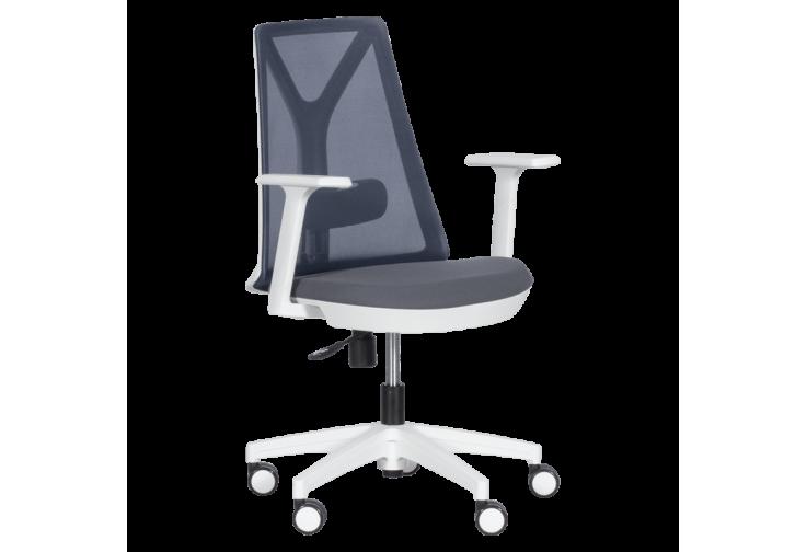 Работен офис стол КАРМЕН 7565 - сив