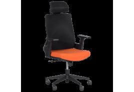 Президентски офис стол КАРМЕН 7544 - оранжев