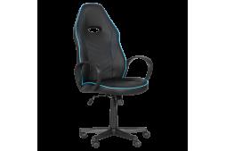 Геймърски стол КАРМЕН 7530 - черно - син