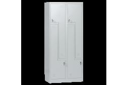 Метален шкаф КАРМЕН CR-1280 L - сив