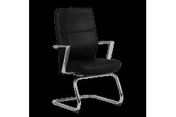 Посетителски стол SIENA - черен LUX