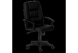 Президентски офис стол КАРМЕН 6078 - черен