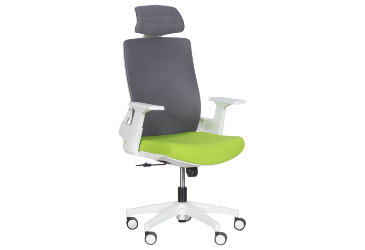 Президентски офис стол КАРМЕН 7546 - зелен