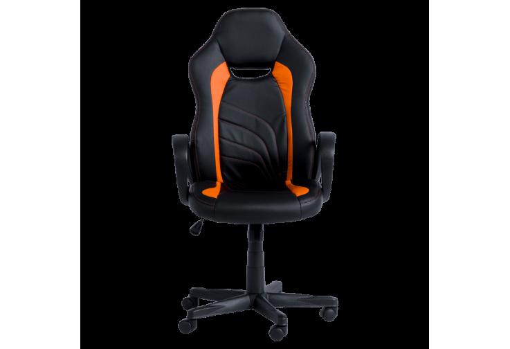 Геймърски стол КАРМЕН 7525 - черно-оранжев