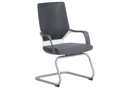 Посетителски стол GALA - сив