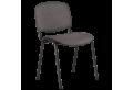 Посетителски стол КАРМЕН 1130 LUX - сив