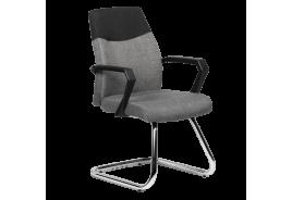 Посетителски стол КАРМЕН 6003 - сив