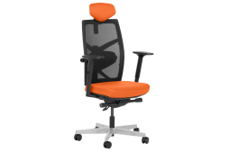 Президентски офис стол FREDO - оранжев
