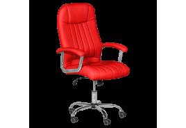 Президентски офис стол КАРМЕН 6181 - червен
