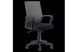 Работен офис стол КАРМЕН 7041 - черен - сив