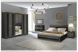 Спален комплект OLIMP черно / златно