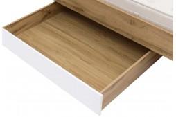 Чекмедже за под легло ZELE SZUFLADA дъб вотан / бял гланц