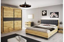 Спален комплект ALENA с LED осветление