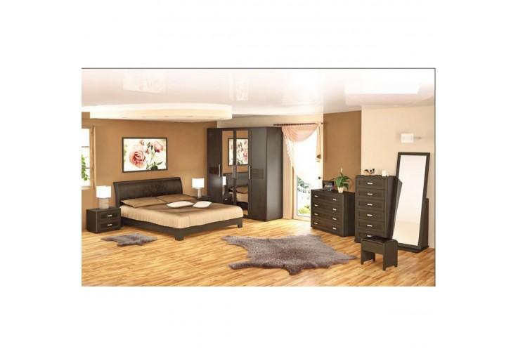 Легло 160 с подматрачна рамка Токио - венге