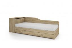 Легло с чекмеджета СИТИ 2005 дъб дакота