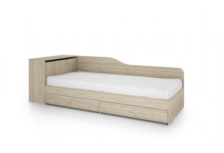 Легло с чекмеджета СИТИ 2005 дъб сонома